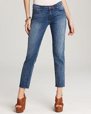 J Brand - Aoki Slim Boyfriend Jeans in Vintage Star