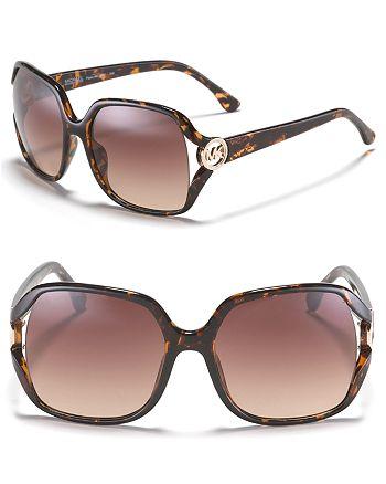 Michael Kors - Women's Pippa Oversized Square Sunglasses
