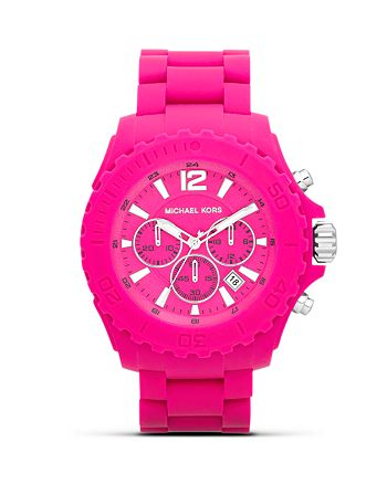 Michael Kors - Silicone Drake Watch, 48mm