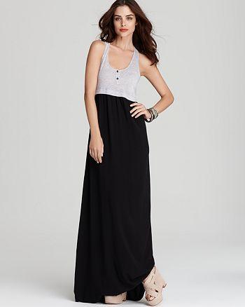 Splendid - Color Block Maxi Dress
