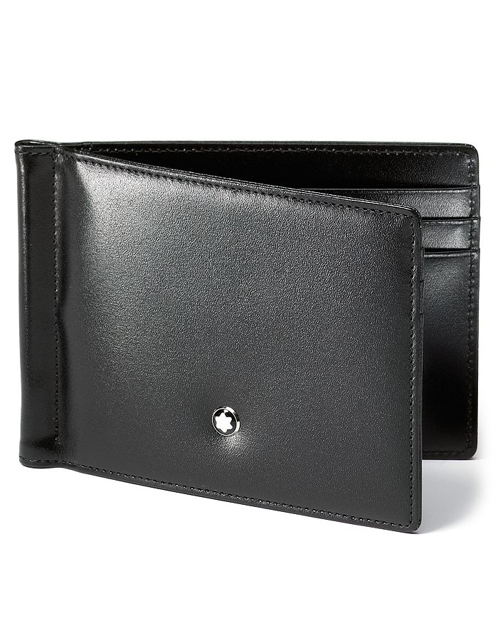 66eb1bd431f9a Montblanc - Meisterstück 6cc Leather Wallet with Money Clip