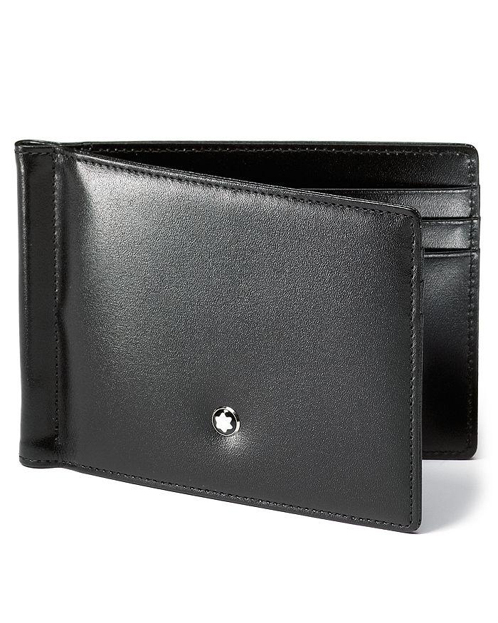 Montblanc - Meisterstück 6cc Leather Wallet with Money Clip