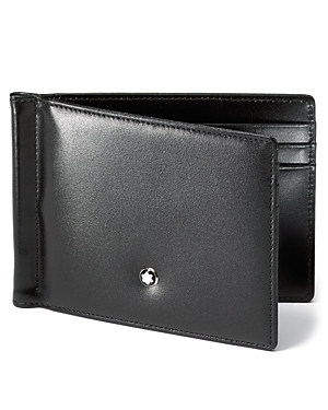 Montblanc Meisterstuck 6cc Leather Wallet with Money Clip
