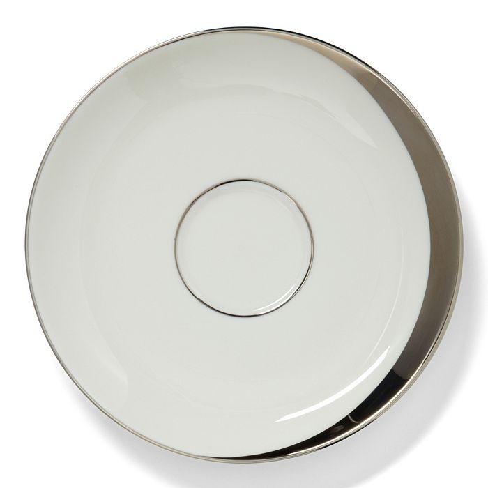 Pickard China - Crescent White Saucer