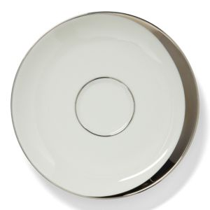 Pickard China Crescent White Saucer