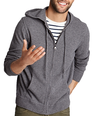 The Men's Store at Bloomingdale's Cashmere Zip Hoodie Sweater