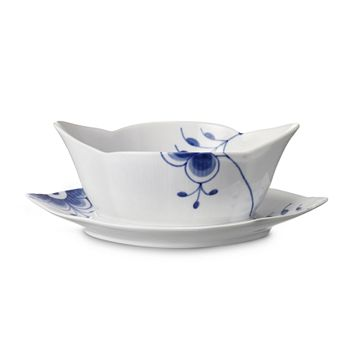 Royal Copenhagen - Blue Fluted Mega Sauce Boat, 9""