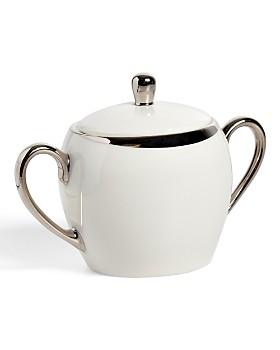 Pickard China - Crescent White Sugar Bowl & Cover