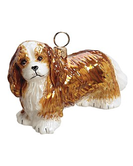 "Joy to the World - Joy to the World ""Cavalier King Charles Spaniel"" Holiday Ornament"