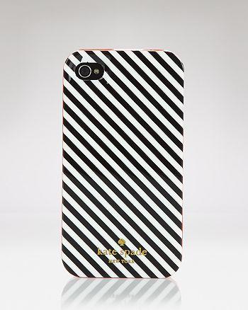 kate spade new york - iPhone 4 Case - Diagonal Stripe