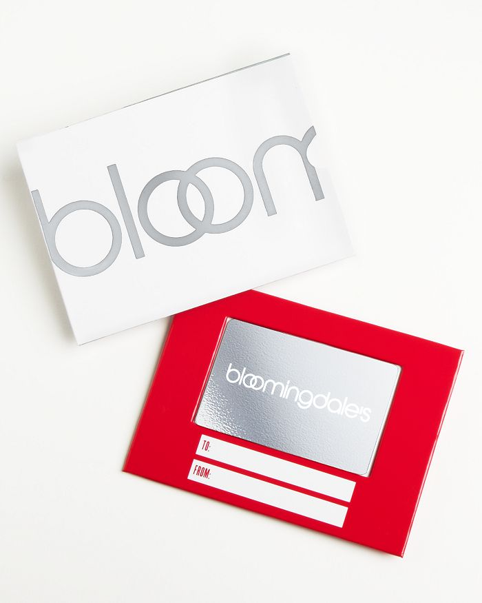 Bloomingdale's - Only at  Gift Card with White Box Sleeve