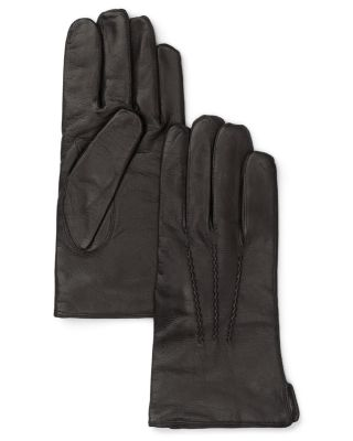 49693bb69f0da The Men's Store at Bloomingdale's Cashmere Lined Leather Gloves - 100%  Exclusive | Bloomingdale's
