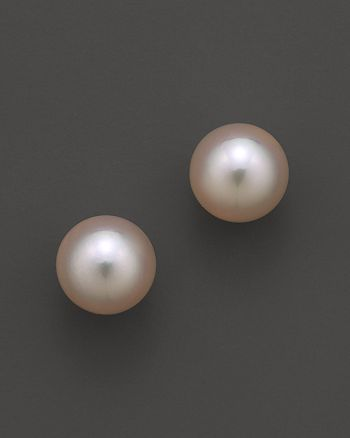 Tara Pearls - Akoya Cultured Pearl Stud Earrings, 8mm