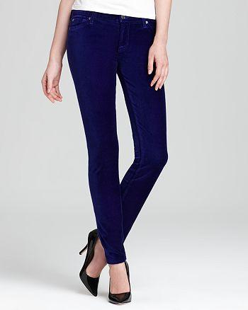 7 For All Mankind - The Skinny Jeans in Velvet