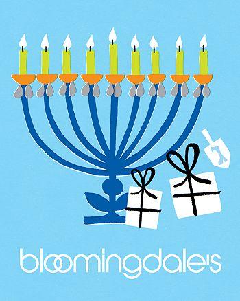 Bloomingdale's - Happy Chanukah E-Gift Card 2012
