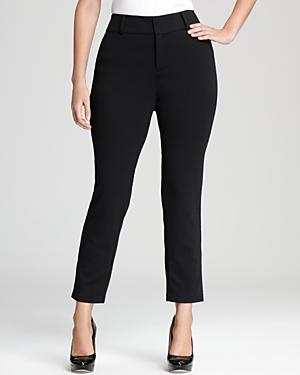 Michael Michael Kors Plus Straight Leg Ankle Pants plus size,  plus size fashion plus size appare