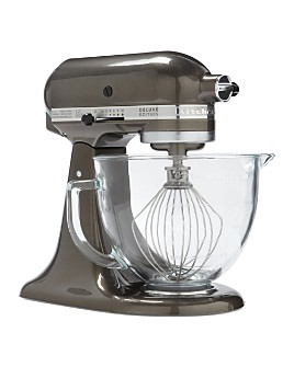 KitchenAid - Artisan Design 5-Quart Stand Mixer with Glass Bowl #KSM155GB