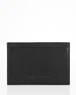 Polo Ralph Lauren - Pebbled Leather Slim Card Case