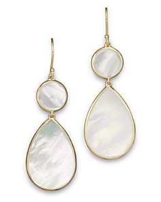 IPPOLITA 18K Gold Polished Rock Candy 2 Drop Earrings in Mother-of-Pearl - Bloomingdale's_0