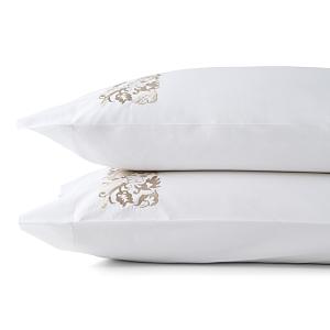 Sferra Saxon Pillowcase, Standard