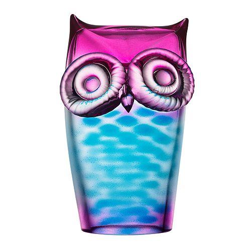 Kosta Boda - My Wide Life Owl Sculpture
