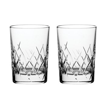 Wedgwood - Duchesse Encore Double Old Fashioned Glass, Set of 2