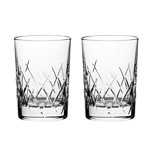 Vera Wang Wedgwood Duchesse Encore Double Old Fashioned Glass, Set of 2