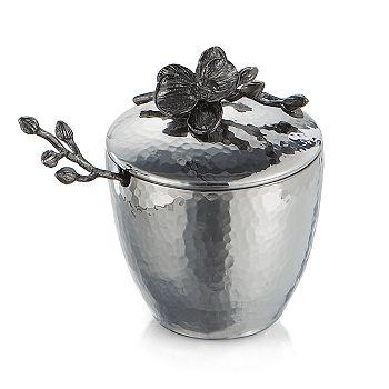 Michael Aram - Black Orchid Mini Pot & Spoon