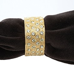 L'Objet Napkin Jewels Pave Band - Bloomingdale's_0