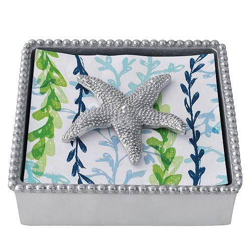Mariposa - Starfish Beaded Napkin Box