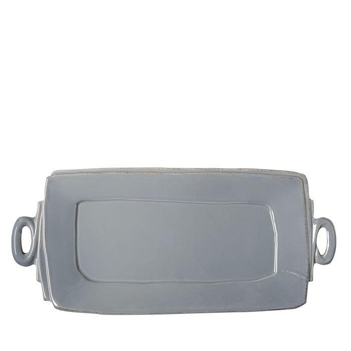 VIETRI - Lastra White Handled Rectangular Platter
