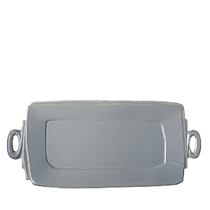 Vietri Lastra Handled Rectangular Platter
