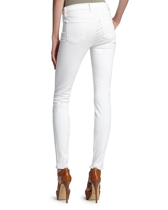 2d6eed59fd2d J Brand Maria High-Rise Skinny Jeans in Blanc   Bloomingdale's