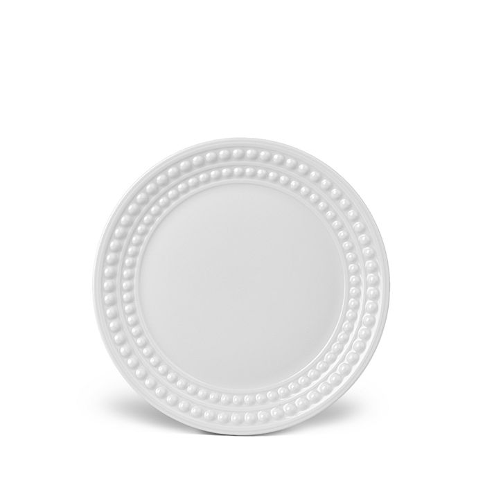 L'Objet - Perlée White Bread & Butter Plate