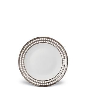 L'Objet - Perlée Platinum Dessert Plate