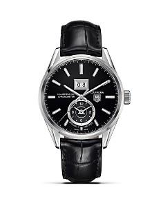 TAG Heuer Calibre 8 Grande Date GMT Watch, 41mm - Bloomingdale's_0