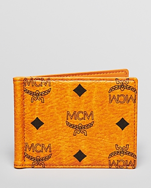 Mcm Heritage Money Clip Wallet