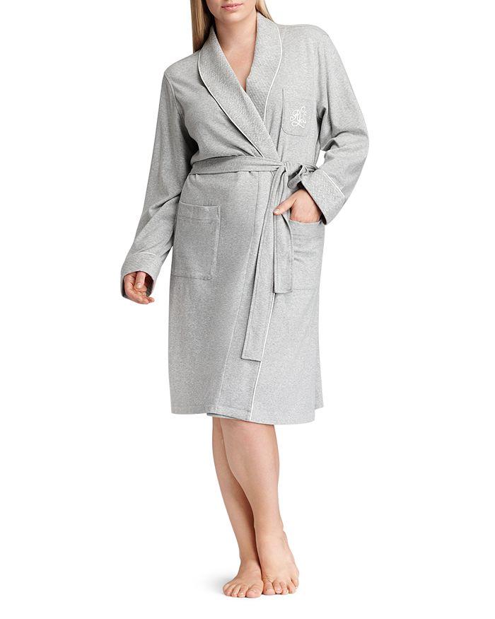 Ralph Lauren - Quilted Collar & Cuff Short Robe