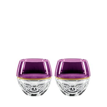 Waterford - Elysian Amethyst Special Edition Rocks Glasses, Set of 2