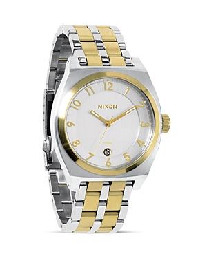 Nixon The Monopoly Two Tone Watch, 40mm