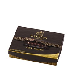 Godiva® 12 Piece Dark Signature Truffles Gift Box - Bloomingdale's_0