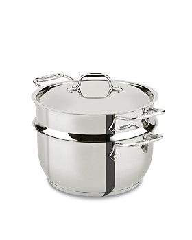 All-Clad - Stainless Steel 5-Quart Steamer