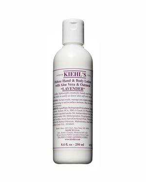 Deluxe Hand & Body Lotion With Aloe Vera & Oatmeal - Lavender/8.4 Oz.