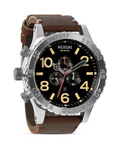 Nixon - The 51-30 Chrono Leather Watch, 51mm
