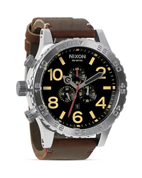 Nixon - The 51-30 Chrono Leather Watch, 51mm