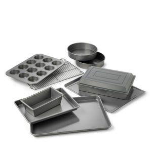 Calphalon 10-Piece Bakeware Set, Dishwasher Safe 846325