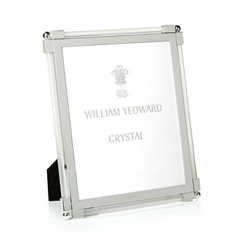 William Yeoward Crystal - Satin Frame, 8 x 10""