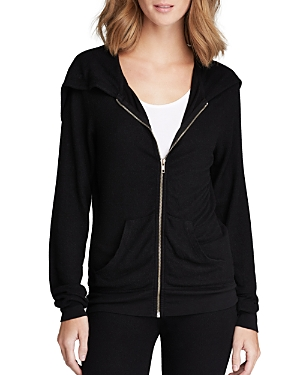 Wildfox Basic Solid Track Suit Hoodie