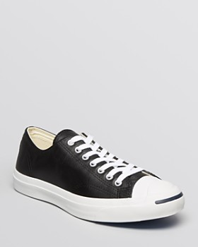 "Converse - ""Jack Purcell"" Leather Sneakers"
