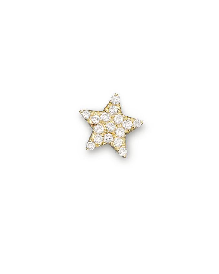 Meira T 14K Yellow Gold Single Stud Star Earring    Bloomingdale's